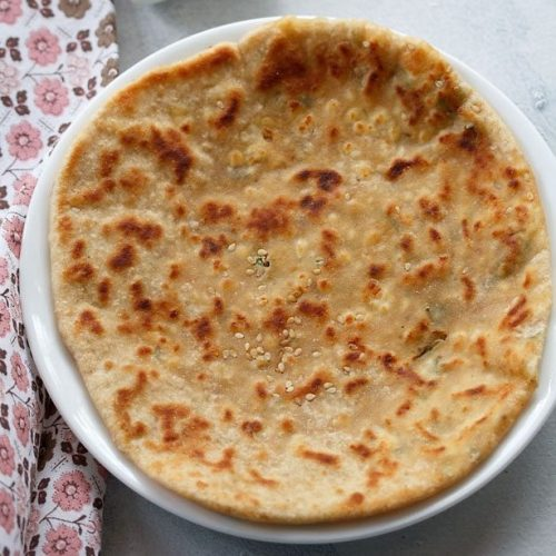 paneer kulcha recipe, stuffed paneer kulcha recipe