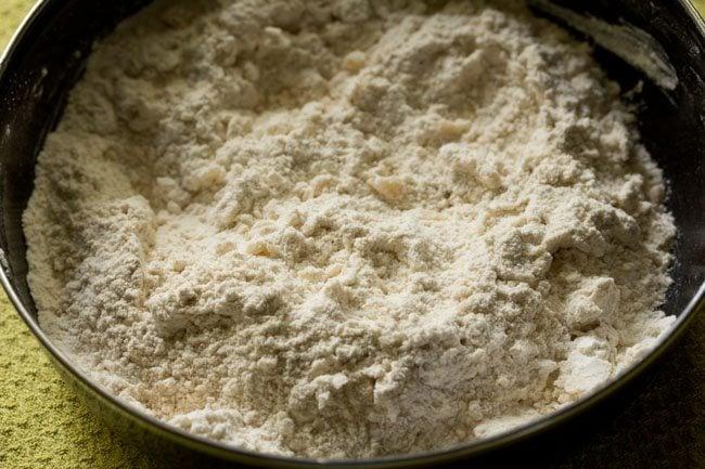 dough for making paneer kulcha recipe