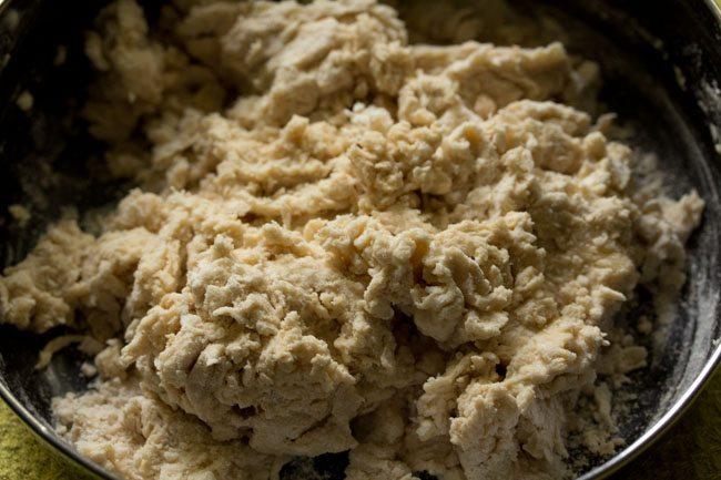 dough for preparing paneer kulcha recipe