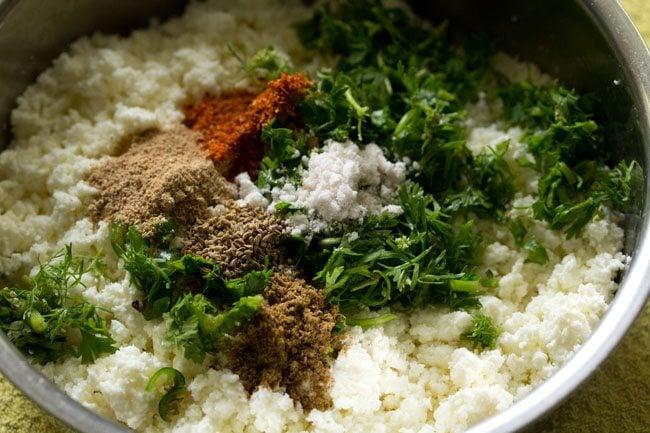 paneer stuffing for paneer kulcha recipe