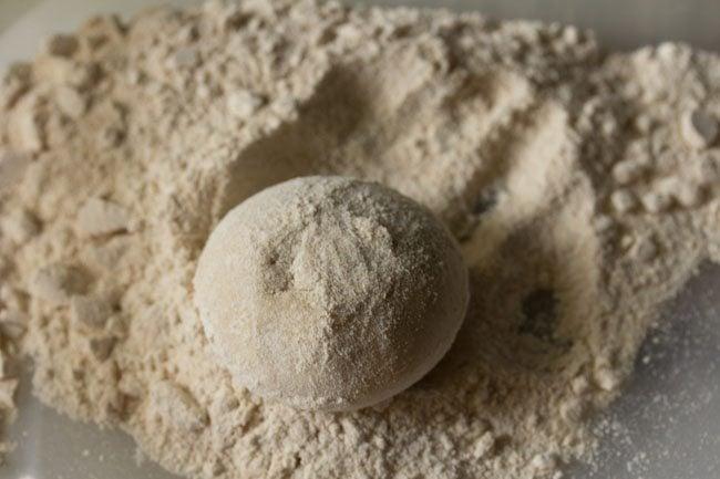 dough balls for paneer kulcha recipe