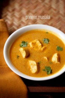 paneer masala gravy recipe | rich & delicious paneer masala curry recipe