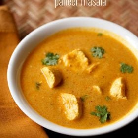 cottage cheese curry recipe, paneer curry recipe