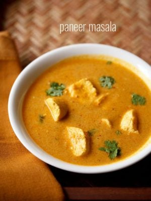 paneer masala recipe, paneer curry recipe