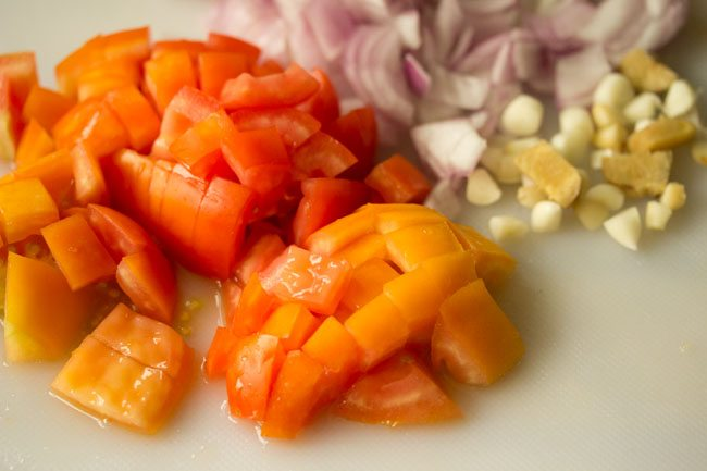 ingredients for paneer curry recipe
