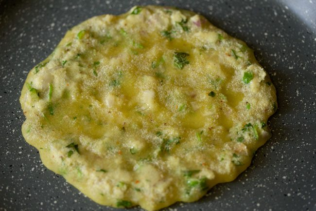 cooking chella - rava chilla recipe
