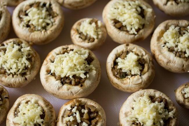 mushroom stuffing for baked stuffed mushrooms recipe