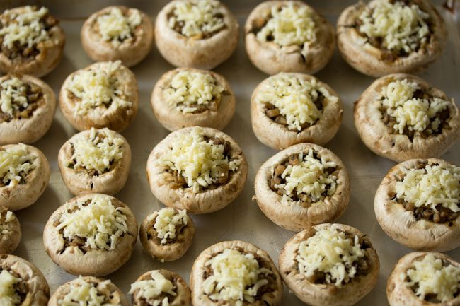 mushrooms for baked stuffed mushrooms recipe