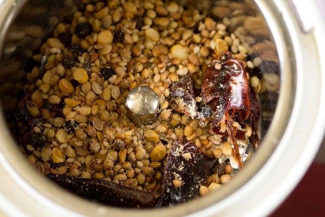 spices for preparing tamarind rice recipe