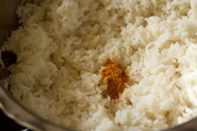 rice for making tamarind rice recipe