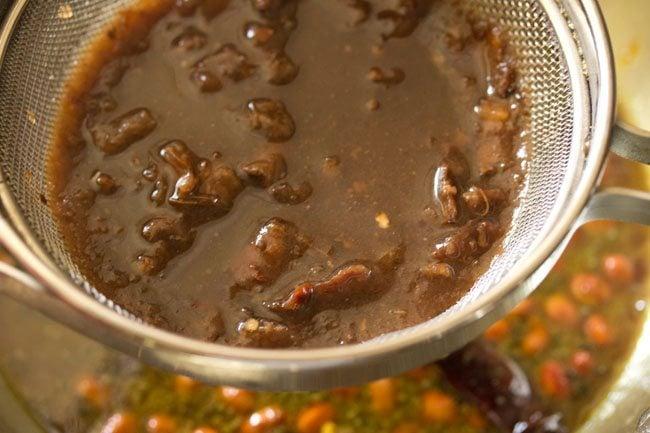 tamarind pulp to make tamarind rice recipe
