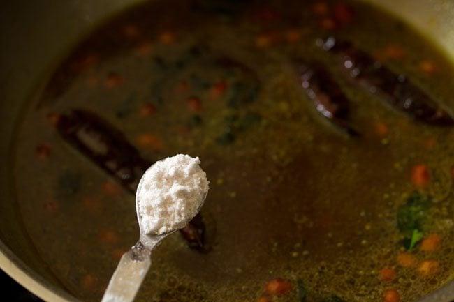 salt to make tamarind rice recipe