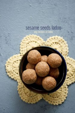 til ladoo recipe | til gud ke ladoo recipe, sesame seeds jaggery ladoo recipe