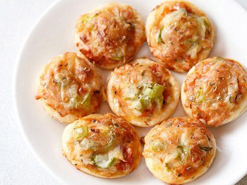 veg pizza puffs recipe