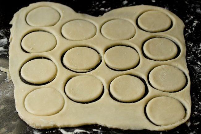 dough for veg pizza puffs recipe