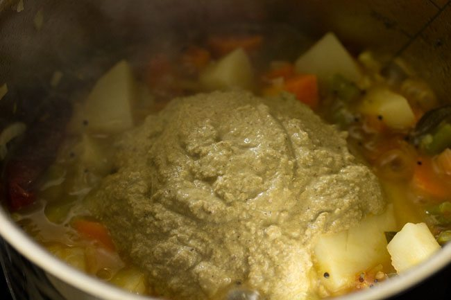 making veg saagu recipe