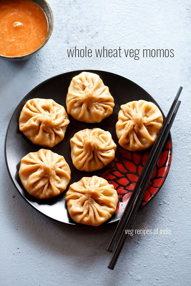 whole wheat veg momos recipe