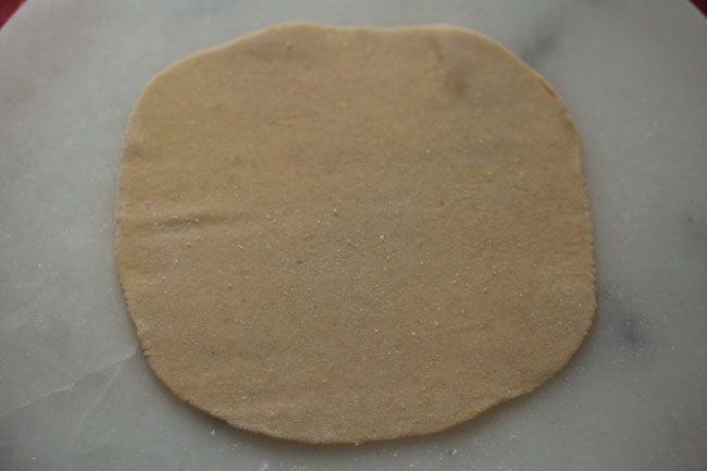 dough for preparing veg momos recipe