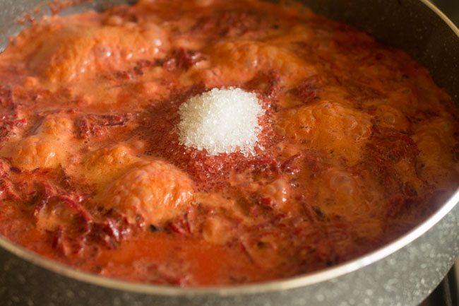 sugar for beetroot halwa recipe