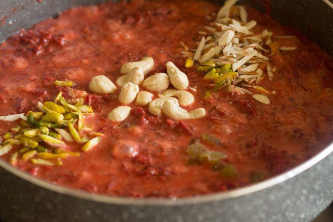 dry fruits to make beetroot halwa recipe
