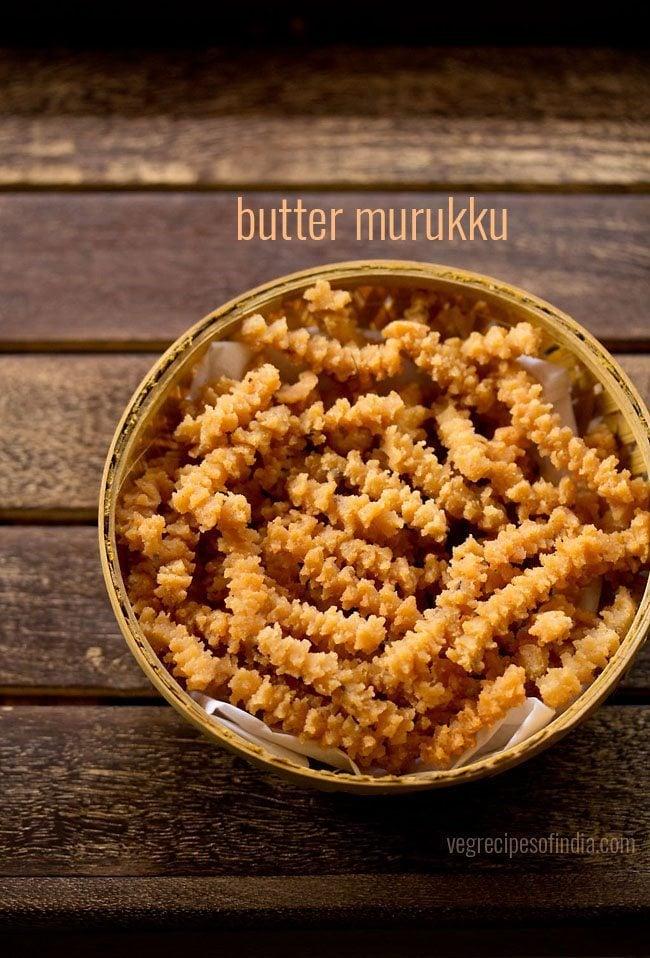 butter murruku recipe
