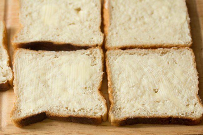 bread slices for Mumbai cheese chilli toast recipe