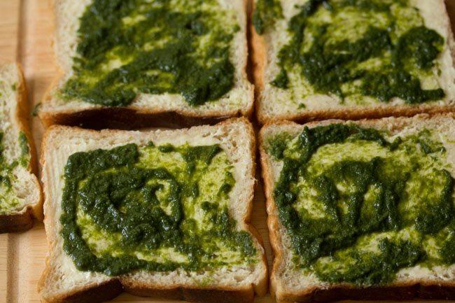 chutney for Mumbai cheese chilli toast recipe