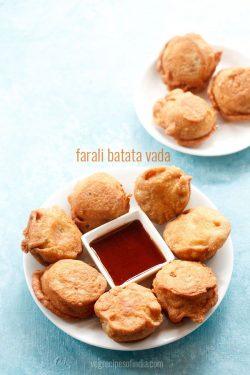 farali batata vada recipe, farali potato bonda recipe for navratri fasting