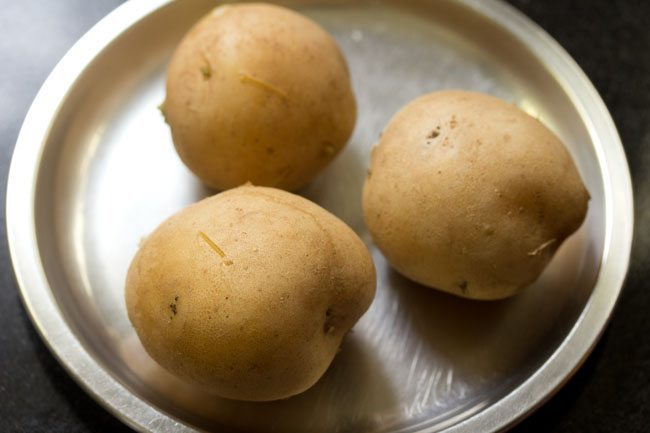 potatoes for farali batata vada recipe