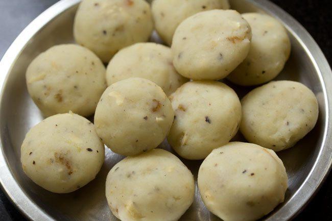 making farali batata vada recipe