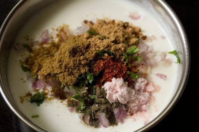 spices for masala raita recipe
