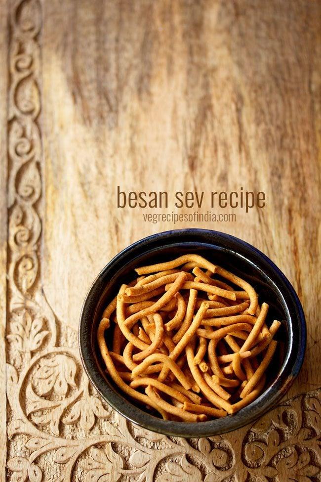 masala sev recipe