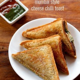 mumbai style cheese chilli toast sandwich recipe