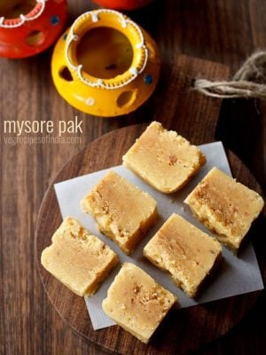 mysore pak recipe, how to make mysore pak | sweets recipes