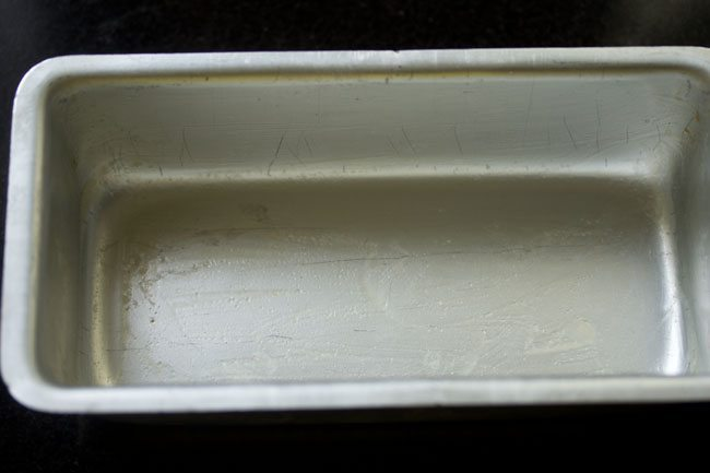 tray to make mysore pak recipe