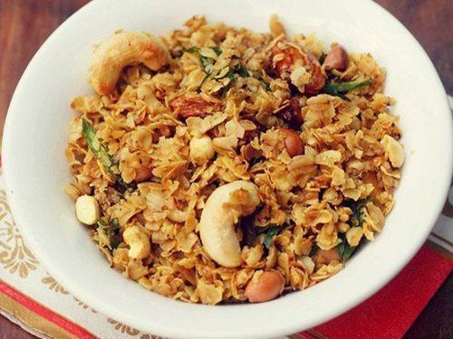 oats chivda recipe