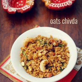 fried oats chivda recipe