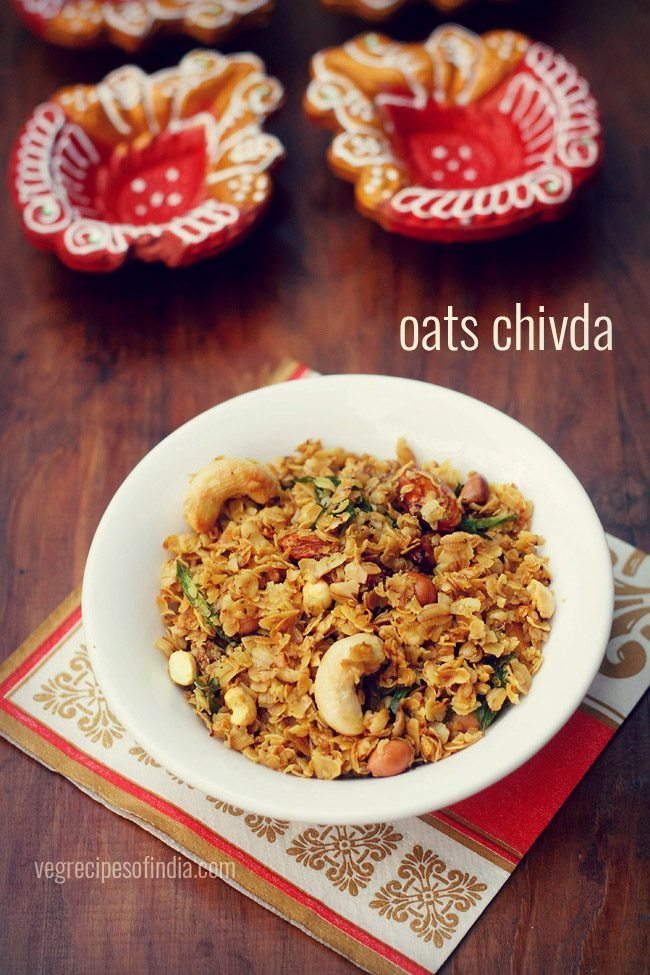 fried oats chivda recipe