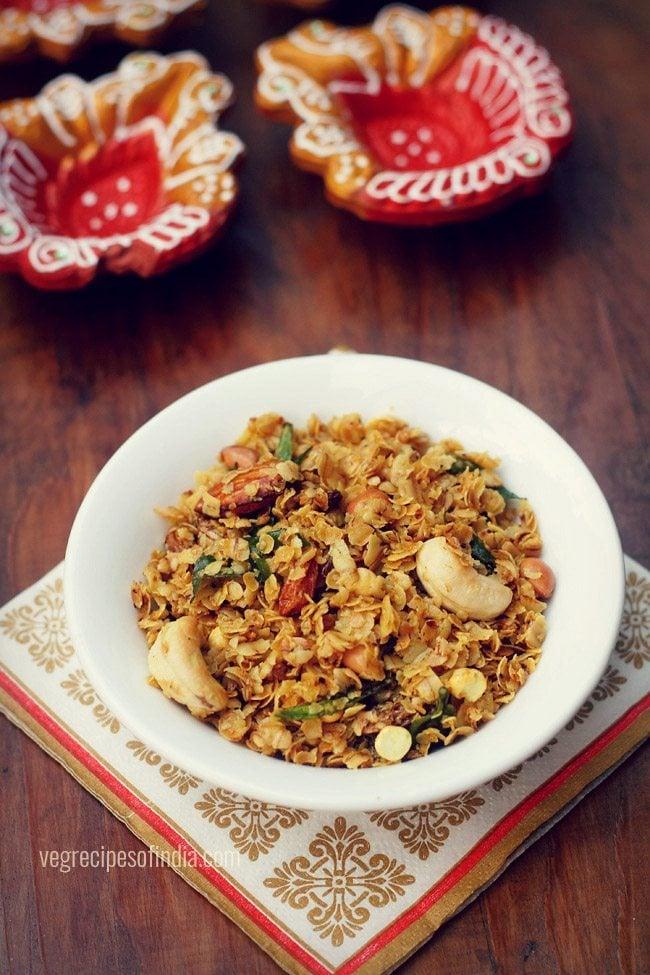 oats chiwda recipe