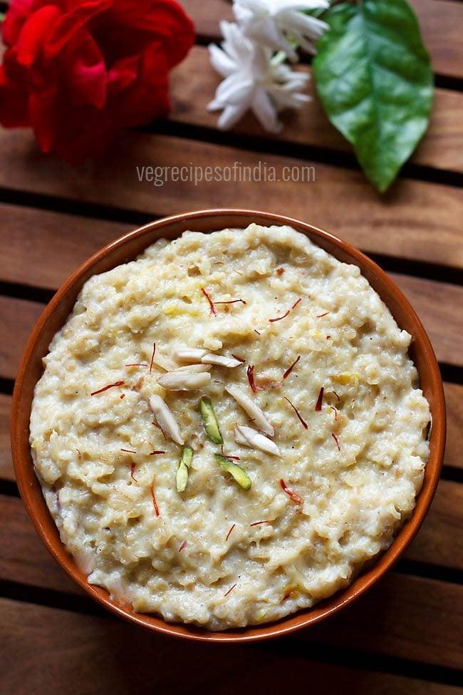oats halwa recipe