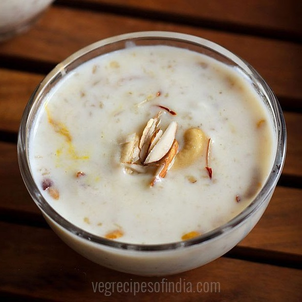 oats kheer recipe