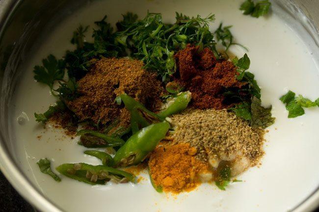 spices for paneer biryani recipe in pressure cooker