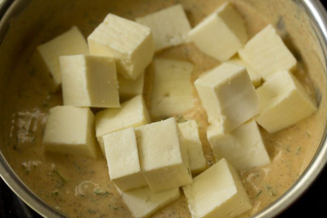 paneer for paneer biryani recipe in pressure cooker