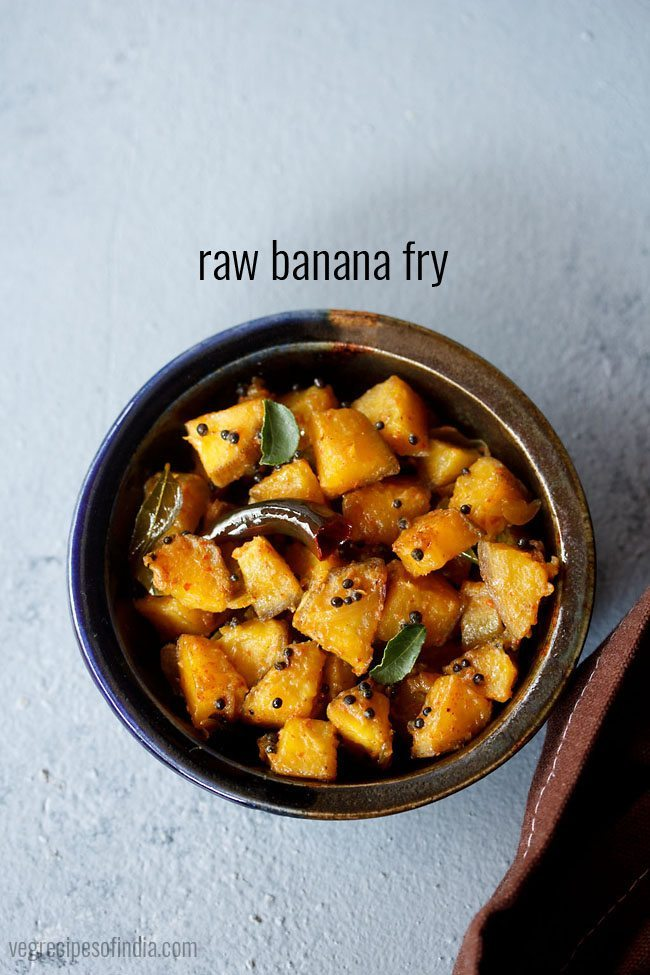 Raw Banana Fry Recipe How To Make Raw Banana Fry Kerala