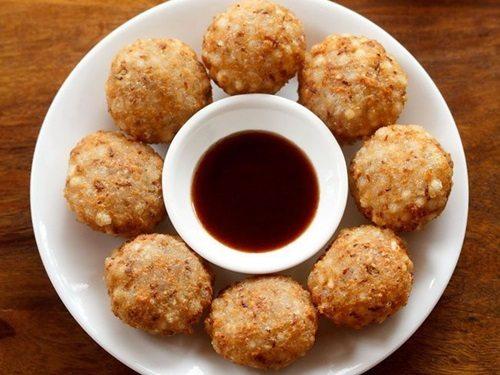 sabudana vada recipe without potato