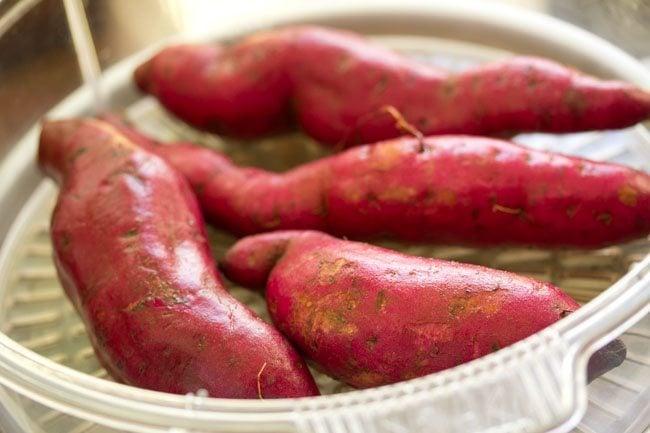 sweet potato for sweet potato chaat recipe