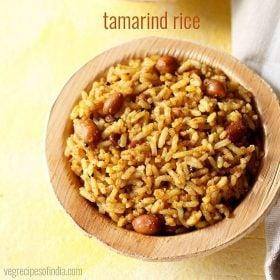 tamarind rice recipe, puliyodharai recipe