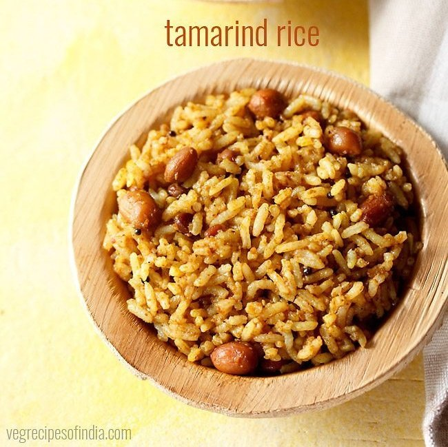 tamarind rice recipe, puliyodharai recipe