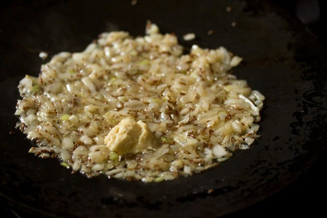 making tawa mushroom masala recipe