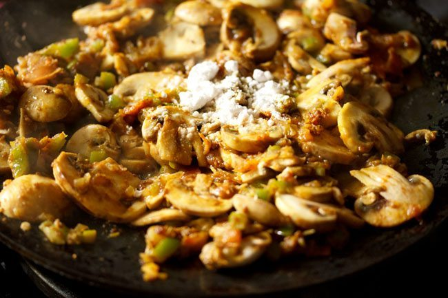 salt to make mushroom tawa masala recipe